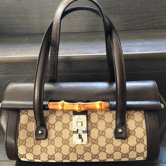 f8c9b766917 Gucci Handbags - Gucci Bamboo Bullet Bag